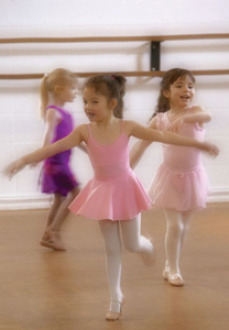 American School of Ballet; child ballerinas; little girls doing ballet