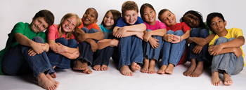 children from all cultures, different ethnicities and backgrounds
