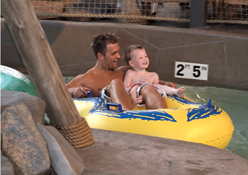 CoCo Key Water Resort in Waterbury, Connecticut; lazy river; indoor water park