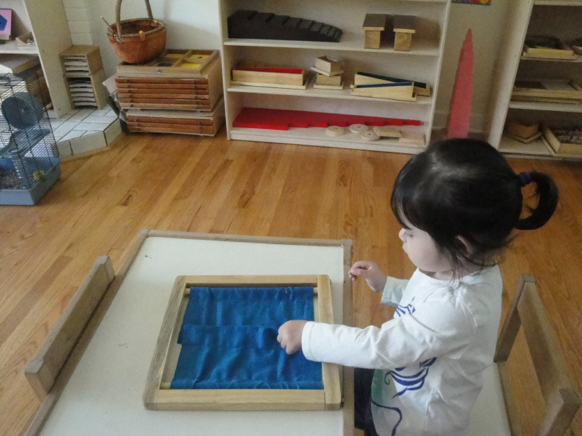 Little Minds Montessori House for Children, Lynbrook; preschool child