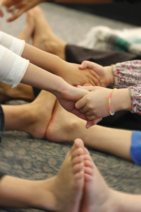 kids doing yoga; children's yoga poses