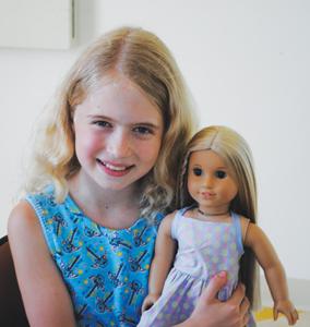 American girl Rebecca doll