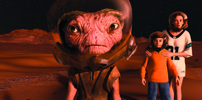 Mars Needs Moms, Disney movie