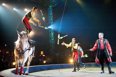 Donnert Brothers, Ringling Bros. circus