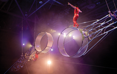 The Fernandez Brothers, Ringling Bros. circus