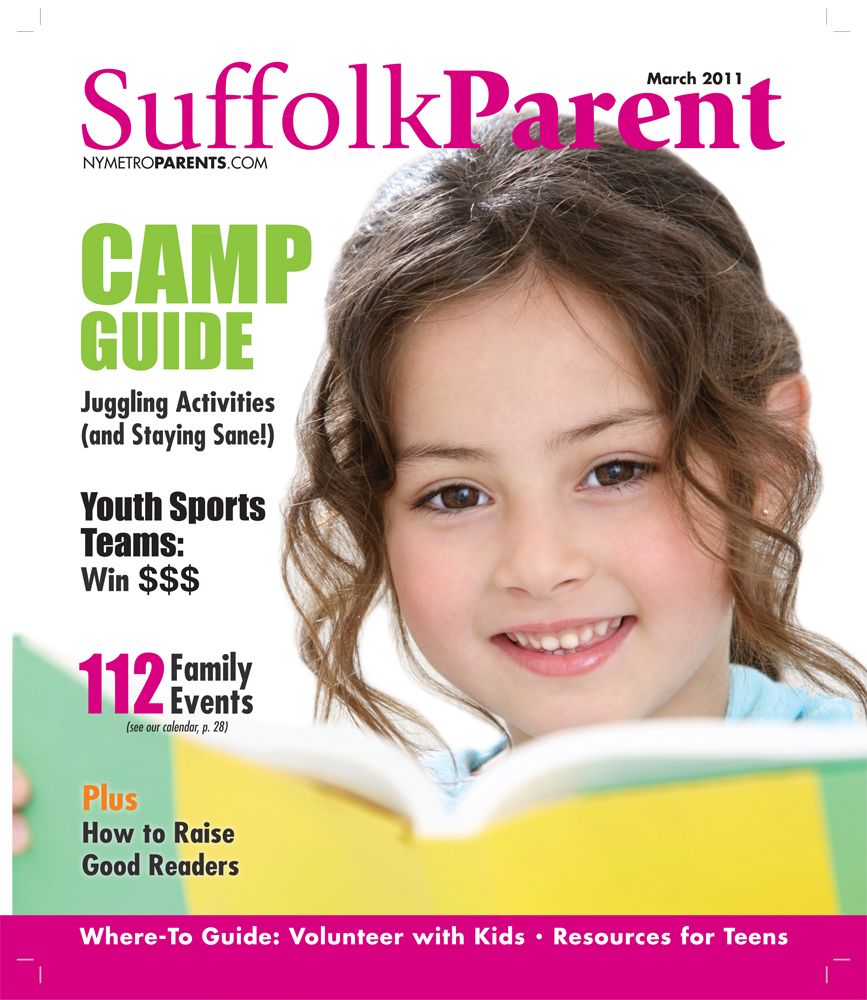 Suffolk Parent magazine, March 2011 cover
