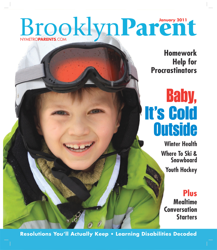 Brooklyn Parent magazine, January 2011 cover