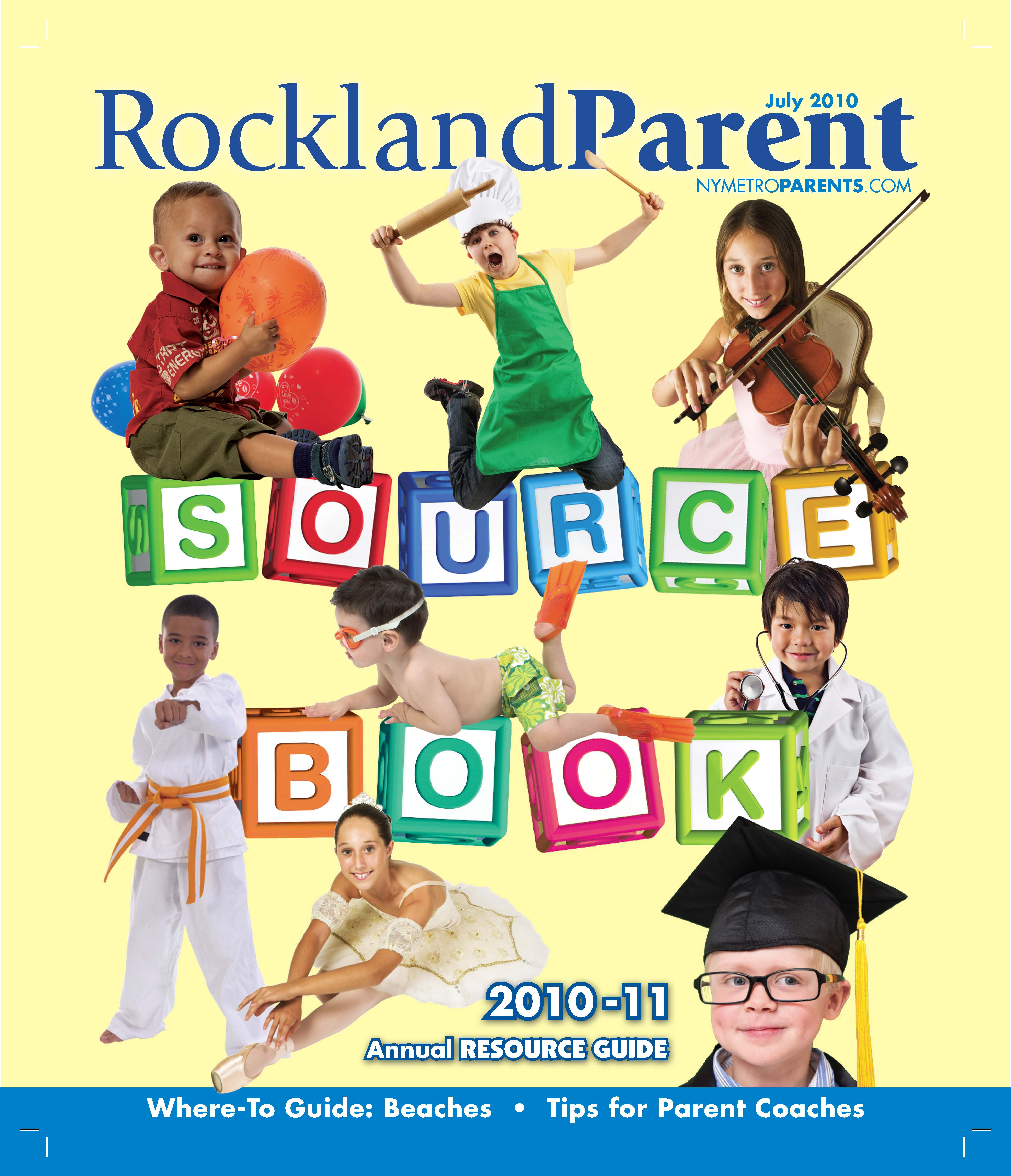 Rockland Parent magazine, Source Book July 2010