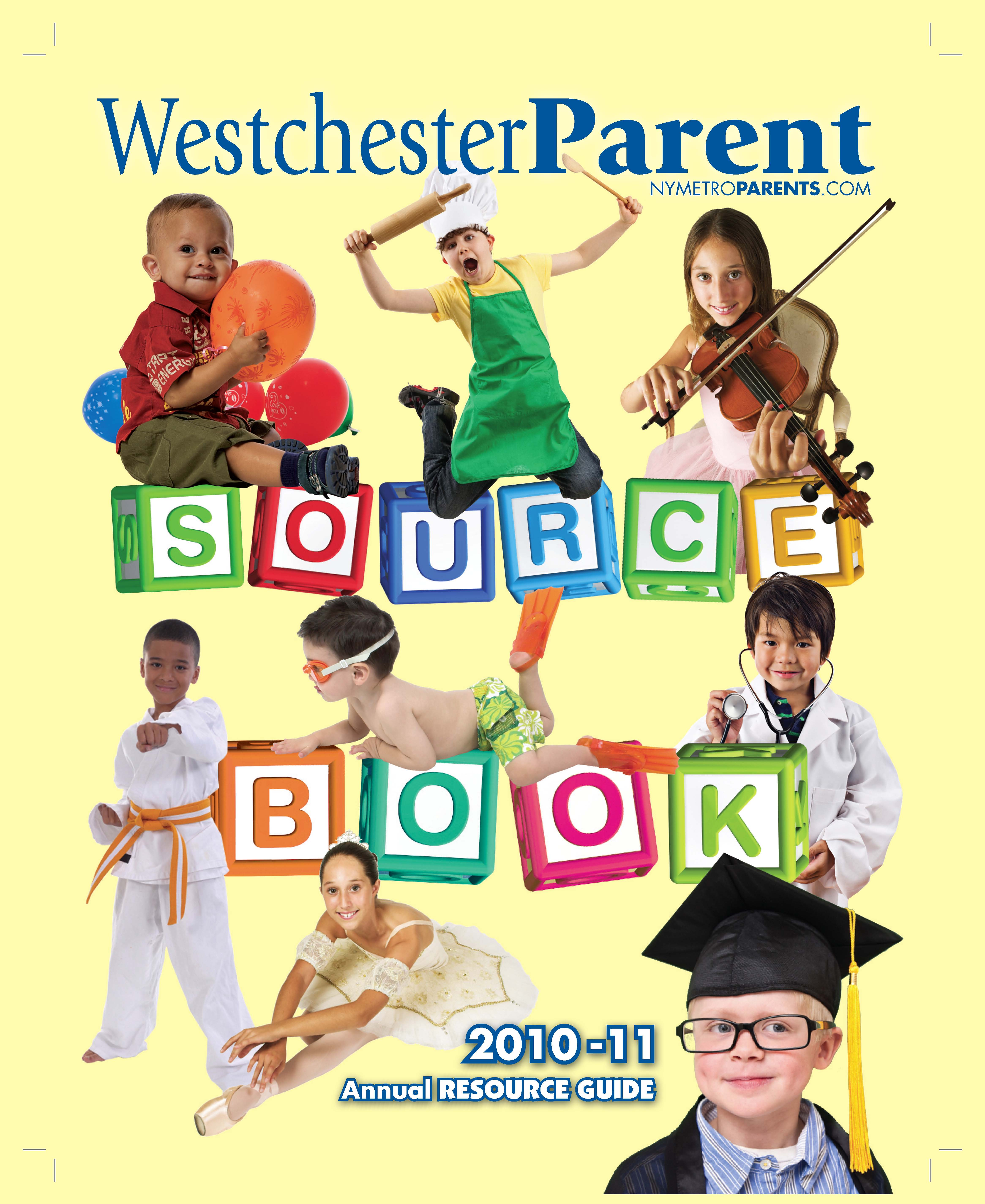 Westchester Parent magazine, Source Book July 2010