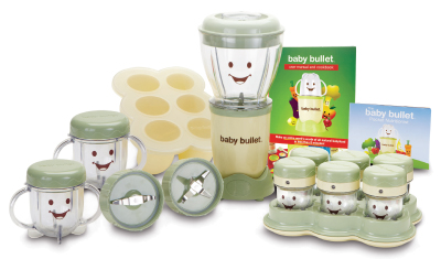 Baby Bullet set, make your own baby food
