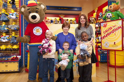 Cause for Celebration launch at Build-A-Bear Workshop in Manhattan