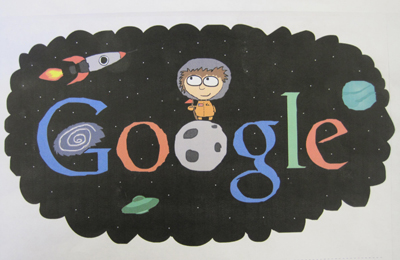 Doodle 4 Google - to walk on the moon by Kai Canoll