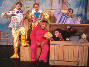 Charlotte's Web on stage
