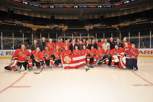 FDNY vs. NYPD Hockey Game at Nassau Coliseum