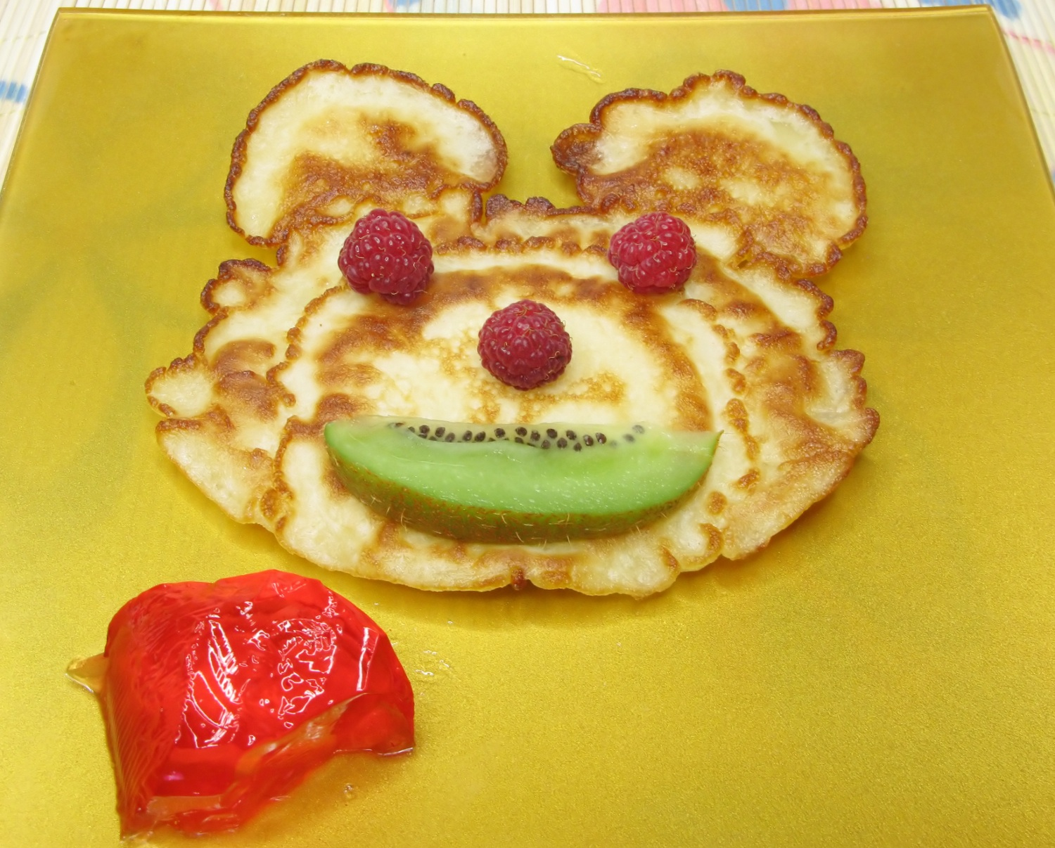 creative pancake breakfast for kids