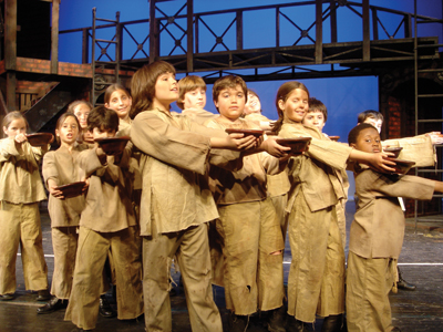 "Yorktown Stage presents ""Oliver"" the musical"