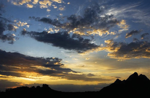 Papago Park sunset