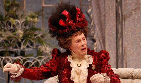 Brian Bedford in Oscar Wilde's The Importance of Being Earnest on Broadway