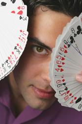 magician Michael Carbonara
