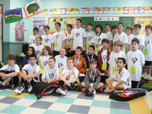 Mid-Westchester JCC Junior Maccabi Games delegation