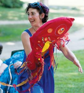 Jill Liflander, puppeteer