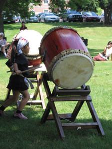 Japanese Taiko drum