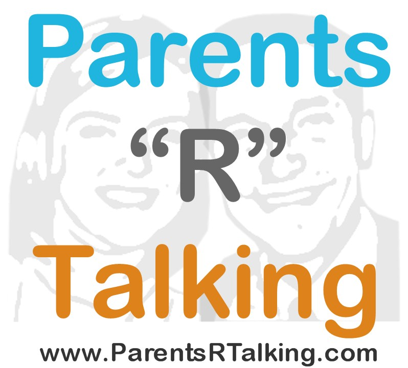 "parents ""r"" talking logo"