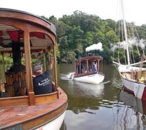 Hudson River Maritime Museum's Steamboat festival