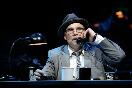 Norbert Leo Butz in Catch Me If You Can on Broadway