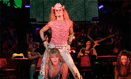 MiG as Stacee Jaxx in Broadway's Rock of Ages