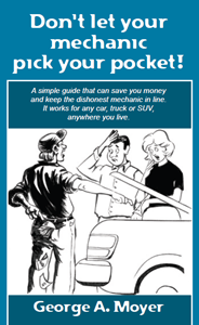 Don't Let Your Mechanic Pick Your Pocket! book cover