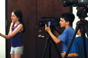children's filmmaking class