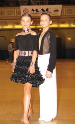 ballroom dancers Patryk Ploszaj and Anna Kaczmarski