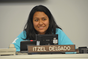 Itzel Delgado at Year of Youth Celebration