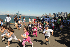 Kids Run to Remember on Governors Island