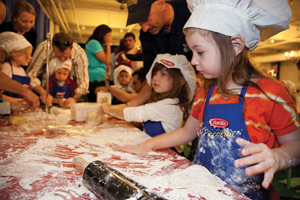 NYC Wine and Food Festival, kids cooking class