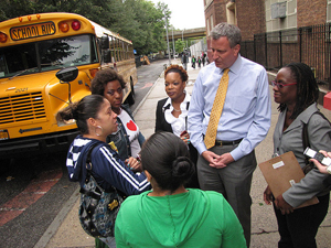 Brooklyn Public Advocate Bill de Blasio