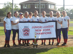 Pearl River junior league new york state champions