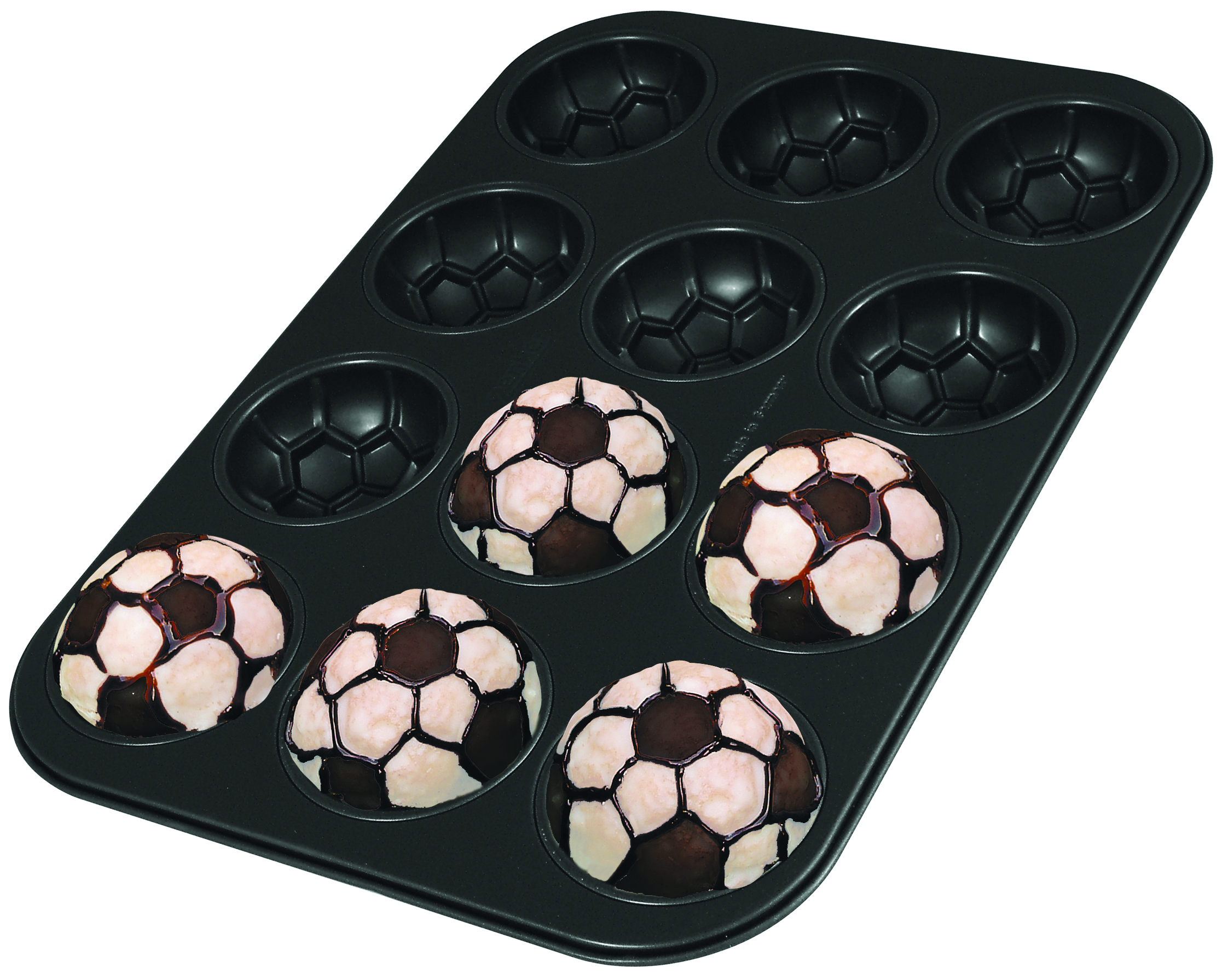 Soccer ball cake pan from Zenker