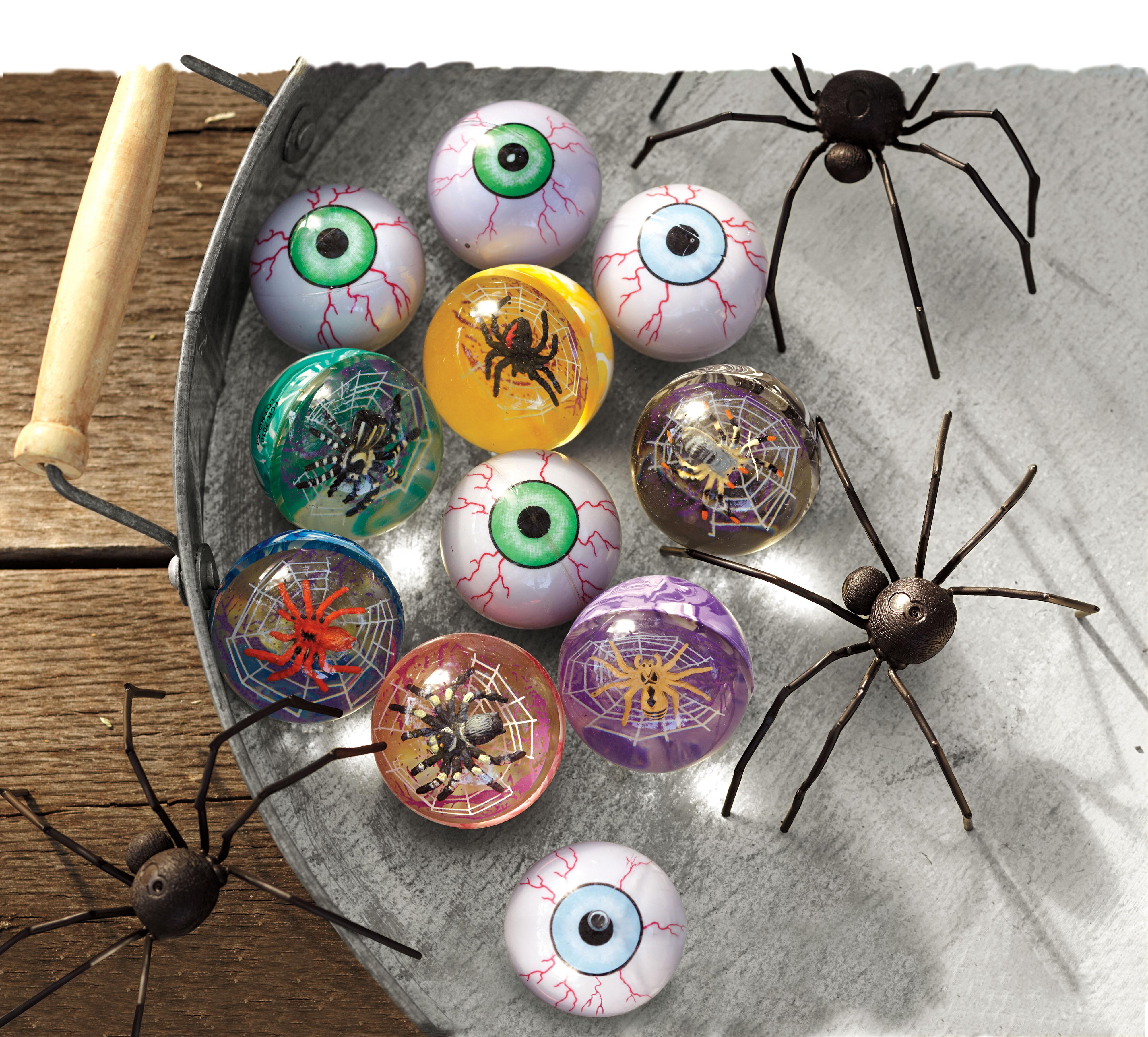 Halloween bouncy balls