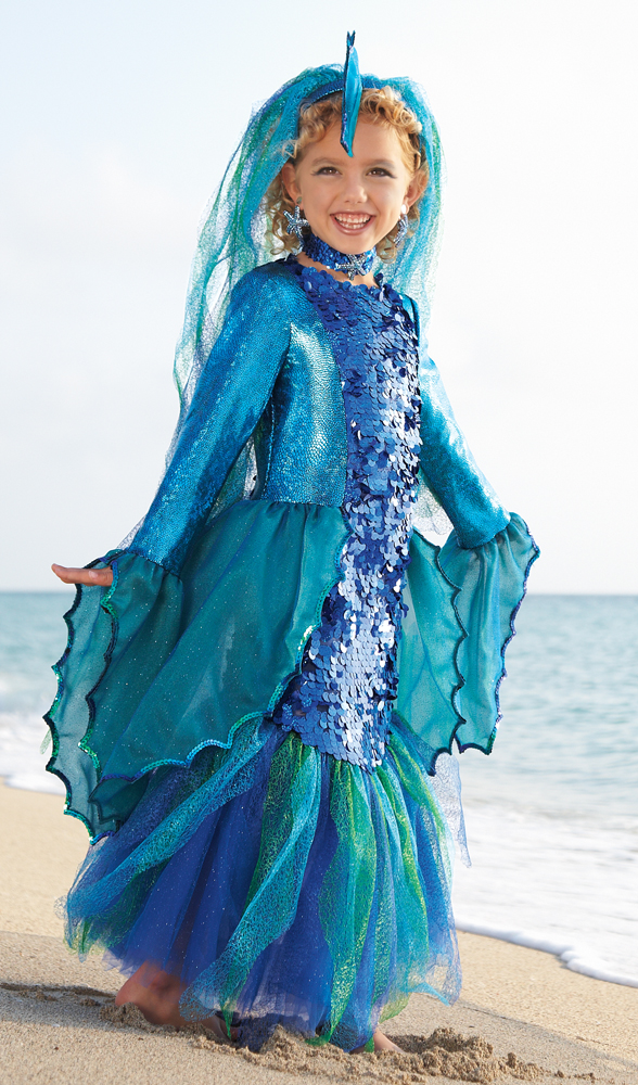Tropical Angelfish Costume for girls