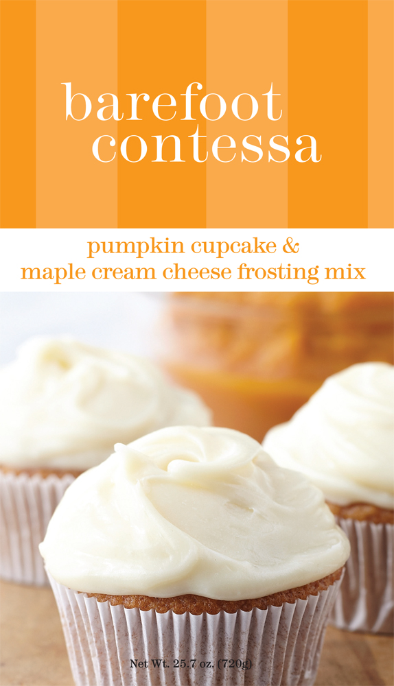 Barefoot contessa 39 s new pumpkin cupcake mix is perfect for Ina garten pumpkin cupcakes