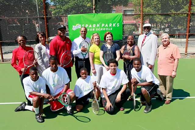 Boys and Girls High School Brooklyn tennis