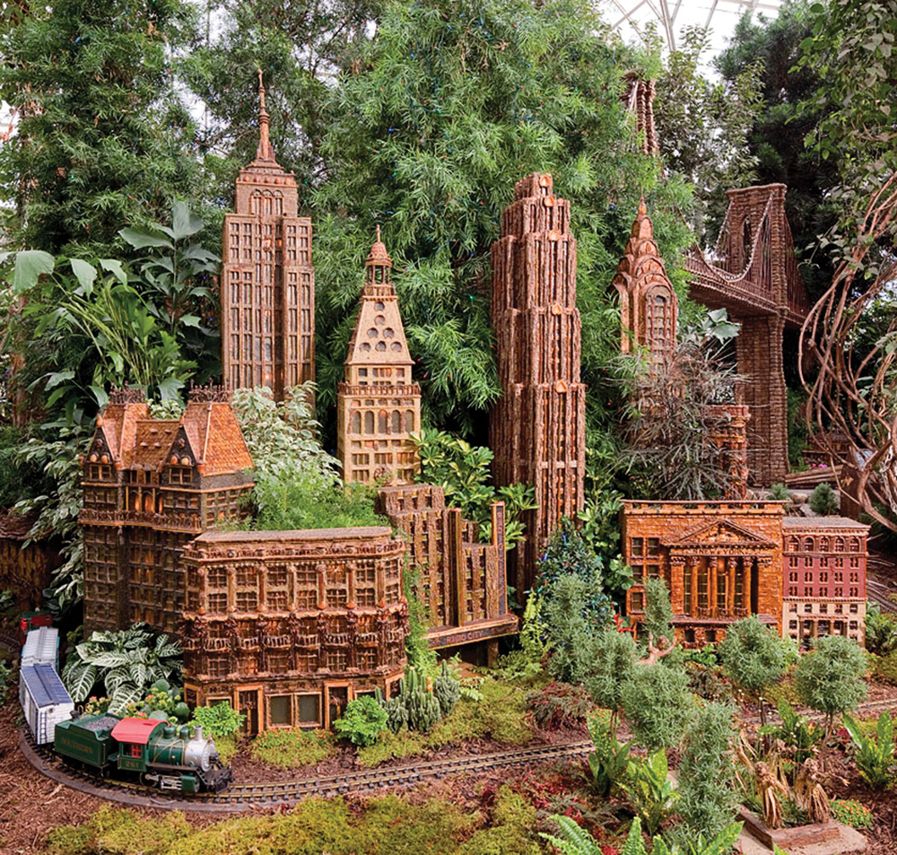 New York Botanical Garden Holiday Train Show