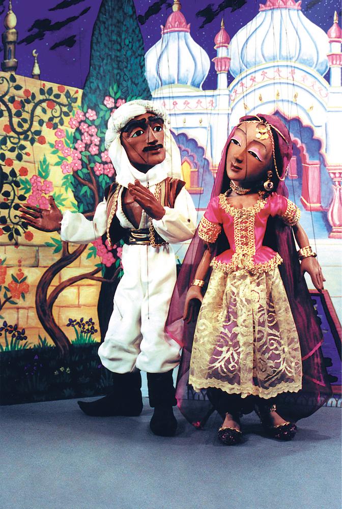 Tanglewood Marionettes Arabian Adventure