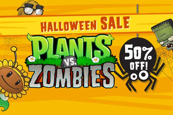 plants vs. zombies halloween sale