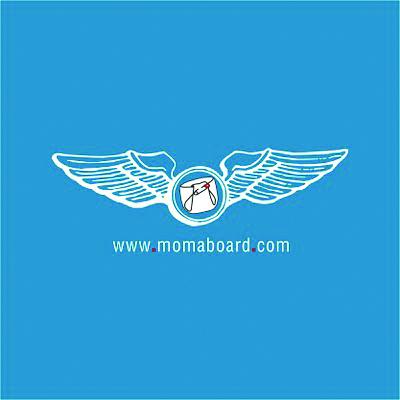 Momaboard logo.