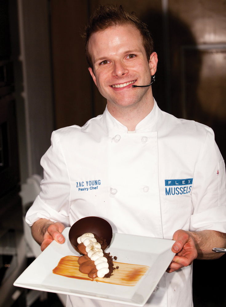 Chef Zac Young at New York Chocolate Show