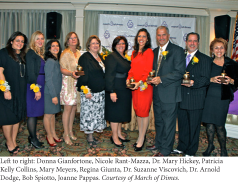 march of dimes presents golden apple awards