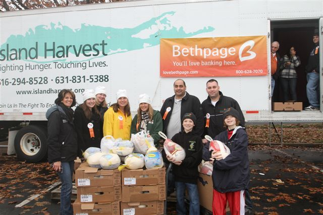 annual turkey drive bethpage